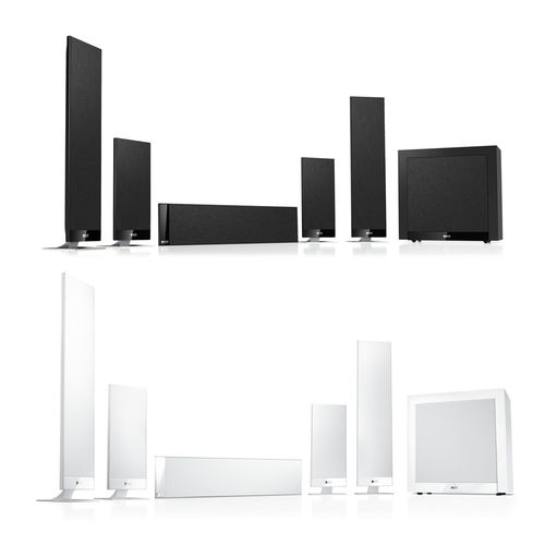 Pack Home Cinema 5.1 T205 Kef