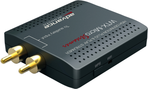 WTX Streamer Audio Multiroom (WIFI.iOS.Android.Multiroom)