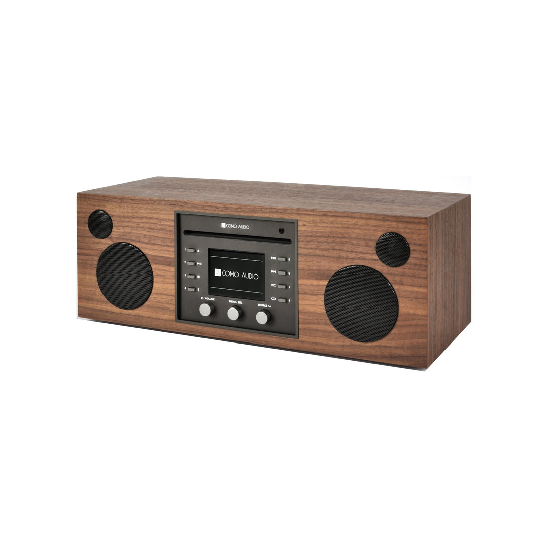 systeme audio musica walnut como audio cd fm dab dab. Black Bedroom Furniture Sets. Home Design Ideas